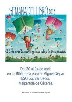 cartel semana del libro