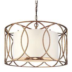 Sausalito Five Light Drum Pendant Drum Pendant Lighting Ceiling Lighting