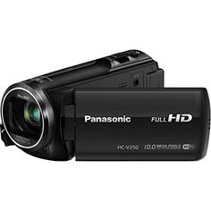 The Panasonic is a Full HD Wi-Fi enabled mega zoom camcorder that features NFC connectivity, a wide-angle shooting range and Real Time Broadcasting via Ustream. Flash Photography, Underwater Photography, Camcorder, Nikon, Sony, Shooting Range, Angle Shooting, Camera Equipment, Printer Scanner