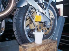 There's only one way to maximum braking efficiency and that is with maintained brakes. In this how-to learn how to inspected and bleed disc and drum brakes. #motorbikeshed