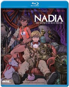 Nadia: The Secret of Blue Water [Blu-ray] Section 23 Romance Film, Thrillers, Watch Movies, Mystery Thriller, Film Review, Latest Movies, Science Fiction, Tv Shows, Comedy