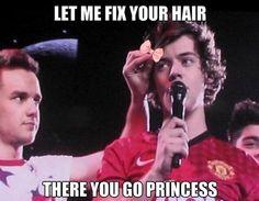 Hahaha Princess!!! I love Princess Harry!