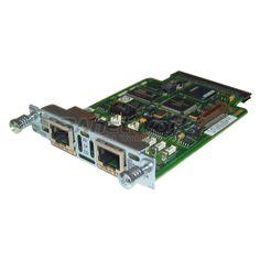 VWIC2-2MFT-G703 Cisco VWIC2 Cards, 2-Port 2nd Gen Multiflex Trunk Voice/WAN Int. Card - G.703.
