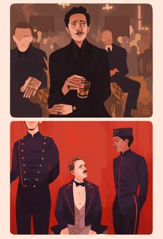 The Grand Budapest Hotel - Wes Anderson (2014)
