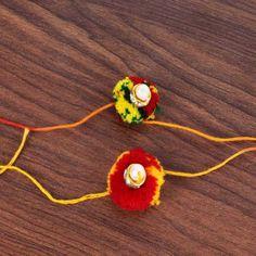 Multicolor Gonda Rakhi Combo Set #rakshabandhan #rakhiideas #gifts Raksha Bandhan Gifts, Rakhi, Stuff To Buy, Free, Jewelry, Jewlery, Jewerly, Schmuck, Jewels