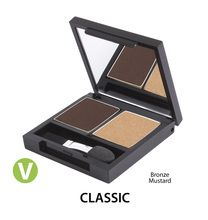 Certified Organic Duo Eyeshadow Palette CLASSIC- Zuii Organic