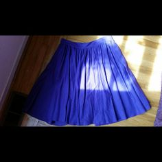 J Crew A Line Skirt TRADE VALUE 35 Full Adorable A Line Skirt, lined and in perfect condition. 2nd & third picture exact color J. Crew Skirts A-Line or Full