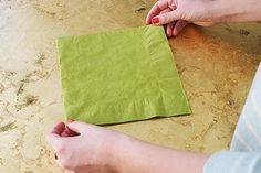 Świąteczne origami – choinka z serwetki | E for Event - blog lifestylowy