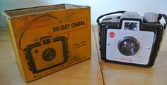 Vintage Brownie Holiday Camera. Original by DomesticTitanVintage