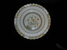 Vintage Buttercup Coupe Dinner Plate by Spode Copeland China England