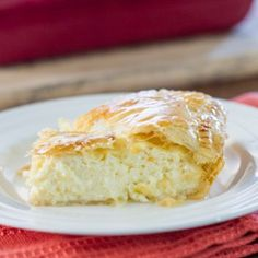 Greek Savory Cheese Pie - Jo Cooks