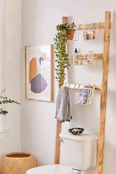 diy storage ideas for small bedrooms space saving Small Bathroom Storage 476537204322942747 - Devon Bath Leaning Storage Rack Source by valivaloche Room Decorations, Decor Room, Diy Home Decor, Urban Home Decor, Bath Decor, Cheap House Decor, Decoration Home, Unique Home Decor, Christmas Decorations