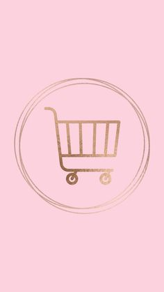 Fun fact: The first shopping cart was a folding chair with a basket on the seat . Pink Instagram, Instagram Blog, Instagram Fashion, Instagram Story, Logo Design, Icon Design, Vans Era, Cart Icon, Shopping Cart Logo