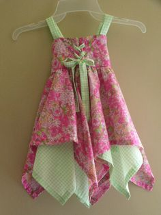 Handkerchief dress by countryatheart2 on Etsy, $45.00