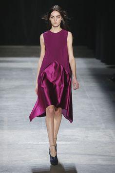 Narciso Rodriguez RTW Fall 2013 Minimal Chic, Fashion Colours, Shades Of Purple, Catwalk, Style Me, Ready To Wear, Fashion Dresses, Womens Fashion, Runway Fashion