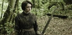 "Arya Stark | 20 ""Game Of Thrones"" Characters Sorted Into Hogwarts Houses This literally made my day!!"