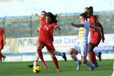 A Seleção Nacional feminina A empatou a uma bola diante da Escócia