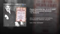 Piano Concerto No. 21 in C K467 (1990 Remastered Version) : II. Andante