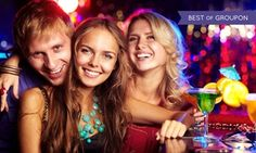 Groupon - $ 39 for a Las Vegas Club Crawl Outing with VIP Access to Up to Five Venues, Drinks, and Food Specials ($90.67 Value) in Las Vegas. Groupon deal price: $39