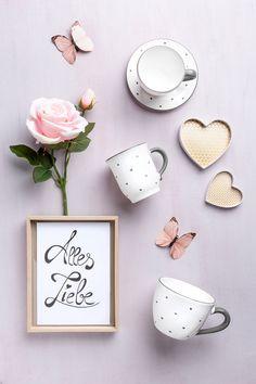 Bei unserem Design Herzerl Grau hüpft einem das Herz vor Freude Ceramic Pottery, Ceramics, Sweet, Design, Pottery Ideas, Joy, Dishes, Heart, Handmade