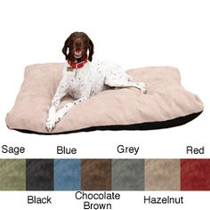 @Overstock - This large, memory-foam dog bed is for all dogs who enjoy having a bed of their own. The shredded memory foam is great for older dogs to get comfortable and warm while they sleep and has a micro-suede cover that can be spot cleaned or machine washed.http://www.overstock.com/Pet-Supplies/Stuffy-Fluffy-Large-Memory-Foam-Dog-Bed/6304737/product.html?CID=214117 $50.89