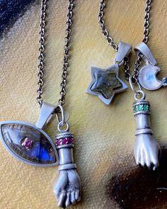 "Sacred Barcelona on Instagram: ""Celestial silver ✨🌙⭐️"" Zodiac Jewelry, Arrow Necklace, Barcelona, Celestial, Jewels, Shapes, Gemstones, Silver, Gold"