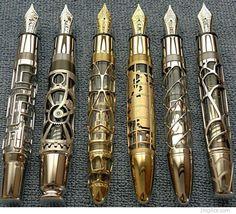 steampunk pens