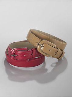 Faux-Patent Belt