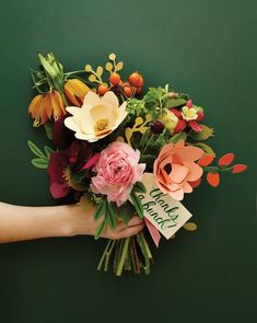 can you believe that these flowers are made out of PAPER? way too cool from rifle paper co.