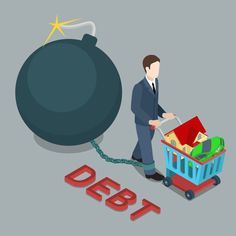 Are you in debt? Collection Agency, Pinterest Account, Home Equity Line, Investing, Debt Free, Nyc, Manners, Debt Payoff, Personal Finance