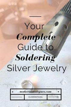 Soldering Jewelry, Jewelry Tools, Metal Jewelry, Crystal Jewelry, Jewelry Design, Jewelry Ideas, Jewelry Logo, Gold Jewelry, Jewelry Kits