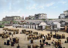 Scheveningen  beach circa 1900