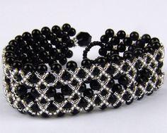 A pattern for black bracelet-Free