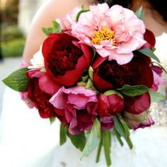 Fall bouquet #burgundy #maroon #wedding … Wedding #ideas for brides, grooms, parents & planners https://itunes.apple.com/us/app/the-gold-wedding-planner/id498112599?ls=1=8 … plus how to organise an entire wedding, within ANY budget ♥ The Gold Wedding Planner iPhone #App ♥ For more inspiration http://pinterest.com/groomsandbrides/boards/ #plum #oxblood #cranberry