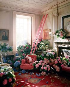 Tim Walker for Exhibition Magazine Tim Walker Photography, Vogue Photography, Lifestyle Photography, Editorial Photography, Flowers London, Brides Room, Flower Installation, Pink Hydrangea, Fashion Company