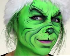 Grinch more the grinch grinch face paint costume ideas fp ideas face