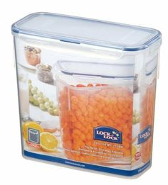 Lock & Lock Rectangular Food Storage Container, PBA Free, 3.4 L / 115 Oz (Pack of 2) by Lock & Lock. $18.89. 100% Air, Moisture and Liquid Tight. When not in use, the Lock and Lock storage containers stack together, both lids and bases. Super durable for long lasting use. Four locking hinges for securing lid & easy opening. Dishwasher, freezer & Microwave safe* Re-heating only, lid must be placed on loose.. Save Food, Save Money, and Save Space with Lock & Lock Storage Conta...