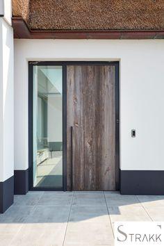Front House Facade Most Popular Ideas Modern Entrance Door, Entrance Doors, Garage Door Design, Garage Doors, Balustrades, Facade House, House Front, Windows And Doors, Future House
