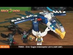 LEGO Legends of Chima Eris' Eagle Interceptor Review : LEGO 70003. Damn this set looks good.. >.