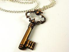 KEY to MY HEART necklace by gr8byz on Etsy, $14.99