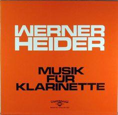 Werner Heider - Musik für Klarinette