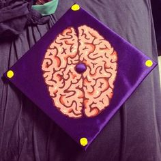 Psychology | 31 Graduation Caps That Absolutely Nailed It