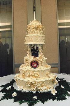 Marine Corps MILITARY USMC prince wedding cake topper KNEEL ...