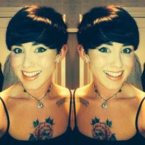 Short crop hairstyle by Glamfusion  #shorthair #tattoo #restyle