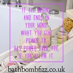 A Sunday bath is the place to unwind and clear the mind. Bath Quotes, Bath Time, Bath Bombs, Place Cards, Sunday, Mindfulness, Place Card Holders, Domingo, Bath Bomb