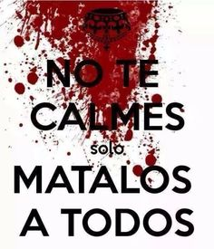 Keel calm and.ah no? Anti Amor, Zombie Life, Quotes En Espanol, Jeff The Killer, Yandere Simulator, Sarcastic Quotes, Creepypasta, Funny Photos, Keep Calm