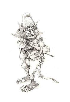 coloriage gratuit trolls et gnomes - Recherche Google