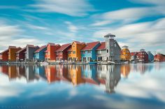 Reflect your Colors by Oer-Wout, photography, cityscape, house, color pattern, reflection,