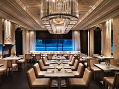 Hawksworth Restaurant - An homage to a bygone era where food, service and cutting edge design converge to create an unparalleled sensory experience.