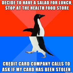Credit card company said it was outside the usual purchase patterns.